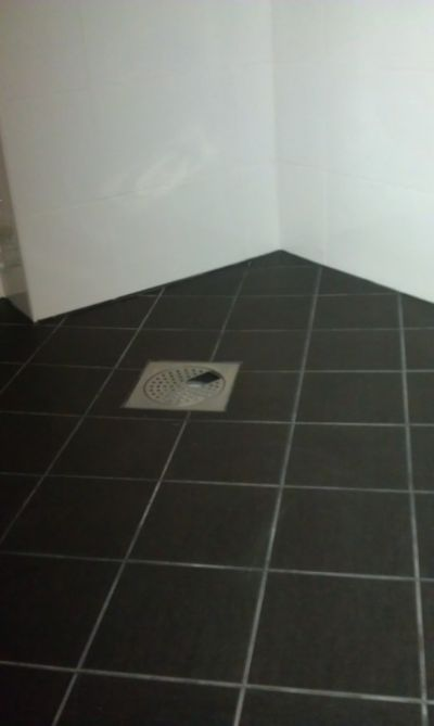 """Referensjobb """"badrum"""" utfört av NT Construction AB"""