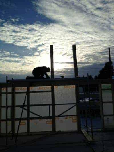 """Referensjobb """"Stolpar och sol"""" utfört av City Bygg i Kalmar"""