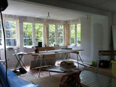 """Referensjobb """"Helrenovering av ett hus i Saltsjö Boo."""" utfört av NACKA BAD OCH BYGG AB"""