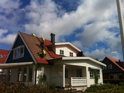"Referensjobb ""Takjobb "" utfört av Janssons tak & fasad AB"