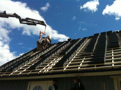 "Referensjobb ""Takjobb"" utfört av Janssons tak & fasad AB"