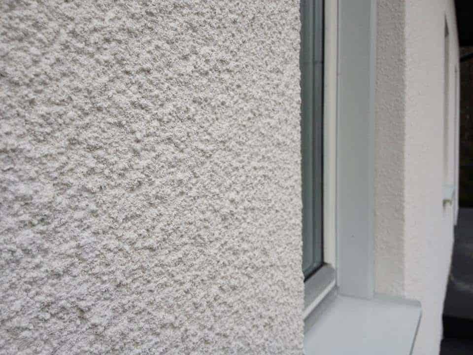"""Referensjobb """" Fasadarbete/  Puts"""" utfört av Mur Puts och Betong i Borås AB"""