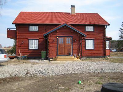 """Referensjobb """"Nybyggnation"""" utfört av Lennart i Salom AB"""