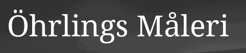 Logotyp för Öhrlings Måleri AB