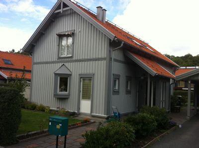"""Referensjobb """"Fasad målning billdal"""" utfört av Elit Måleri i Göteborg AB"""
