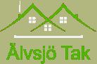 Logotyp för Älvsjö Tak AB