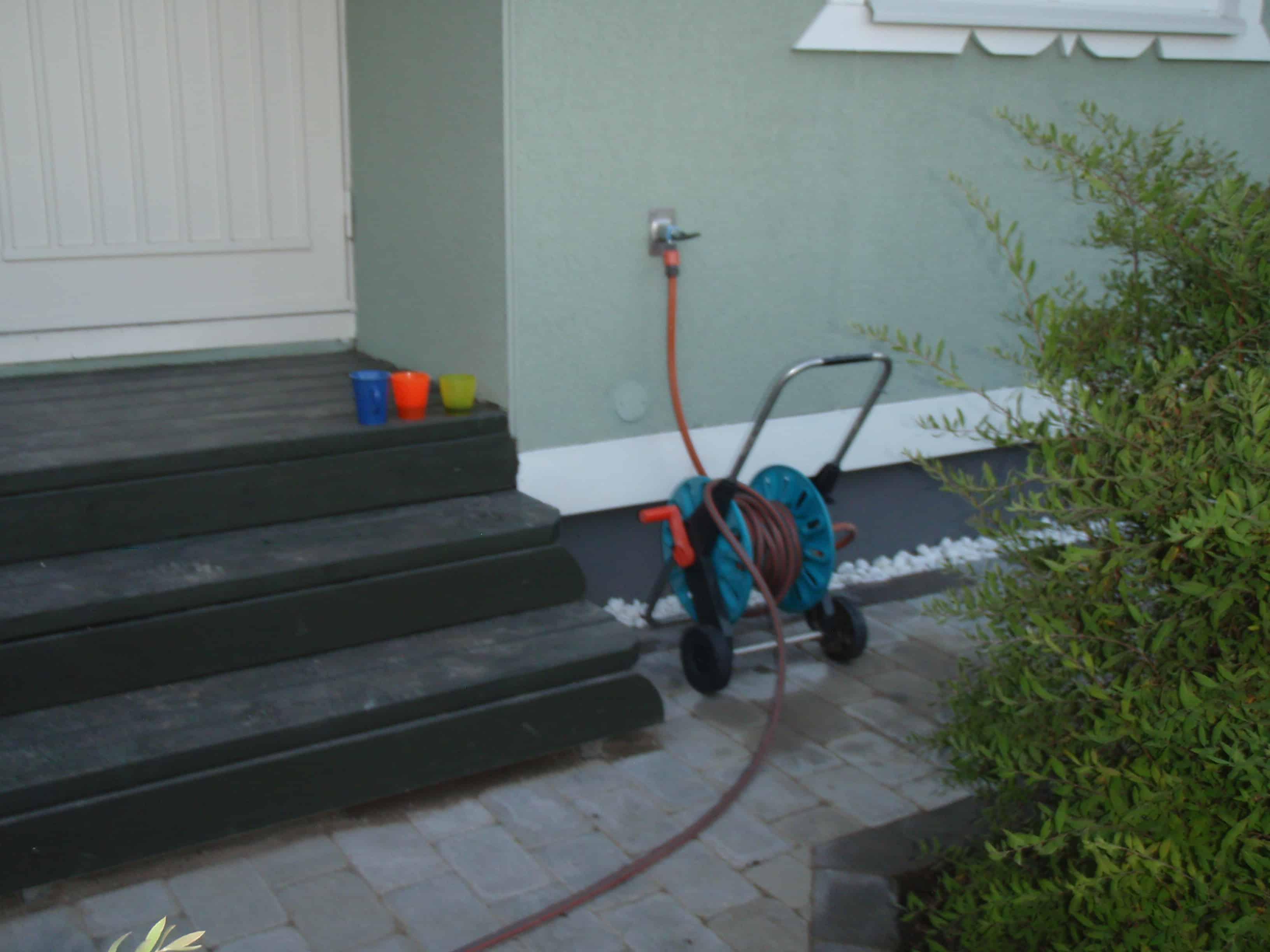 """Referensjobb """"Bygga trappa"""" utfört av Gröna Bussen AB"""