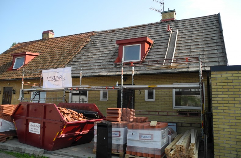 """Referensjobb """"Renovering – Malmö"""" utfört av LYXMAR AB"""