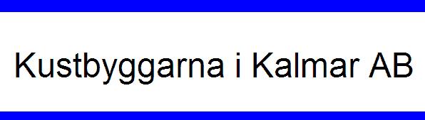 Logotyp för KUSTBYGGARNA I KALMAR AB