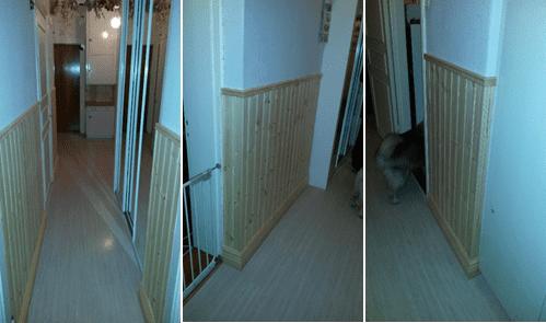 """Referensjobb """"Renovera Inner hall med ny panel, socklar och bröstlist. Och Reparation av taket pga Stormar hösten 2013"""" utfört av Reiskogs Hantverk"""
