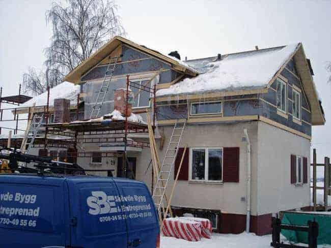 """Referensjobb """"Renovering"""" utfört av Gäre Bygg Aktiebolag"""