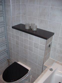 """Referensjobb """"Vägghängd wc."""" utfört av Badhuset Installation i Jönköping AB"""