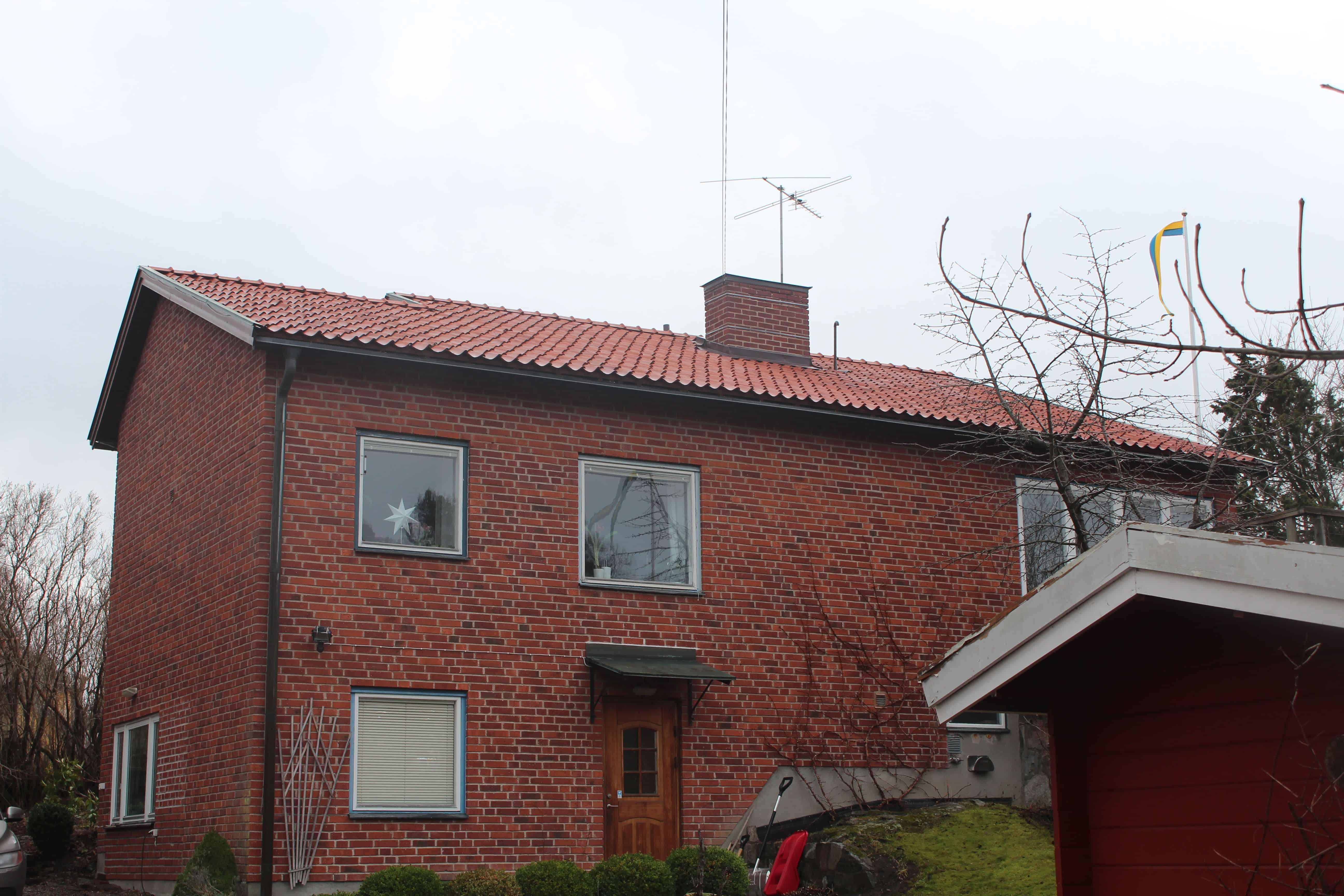 """Referensjobb """"Askrikevägen 8B, Lidingö"""" utfört av Takrenoverarna i Stockholm AB"""
