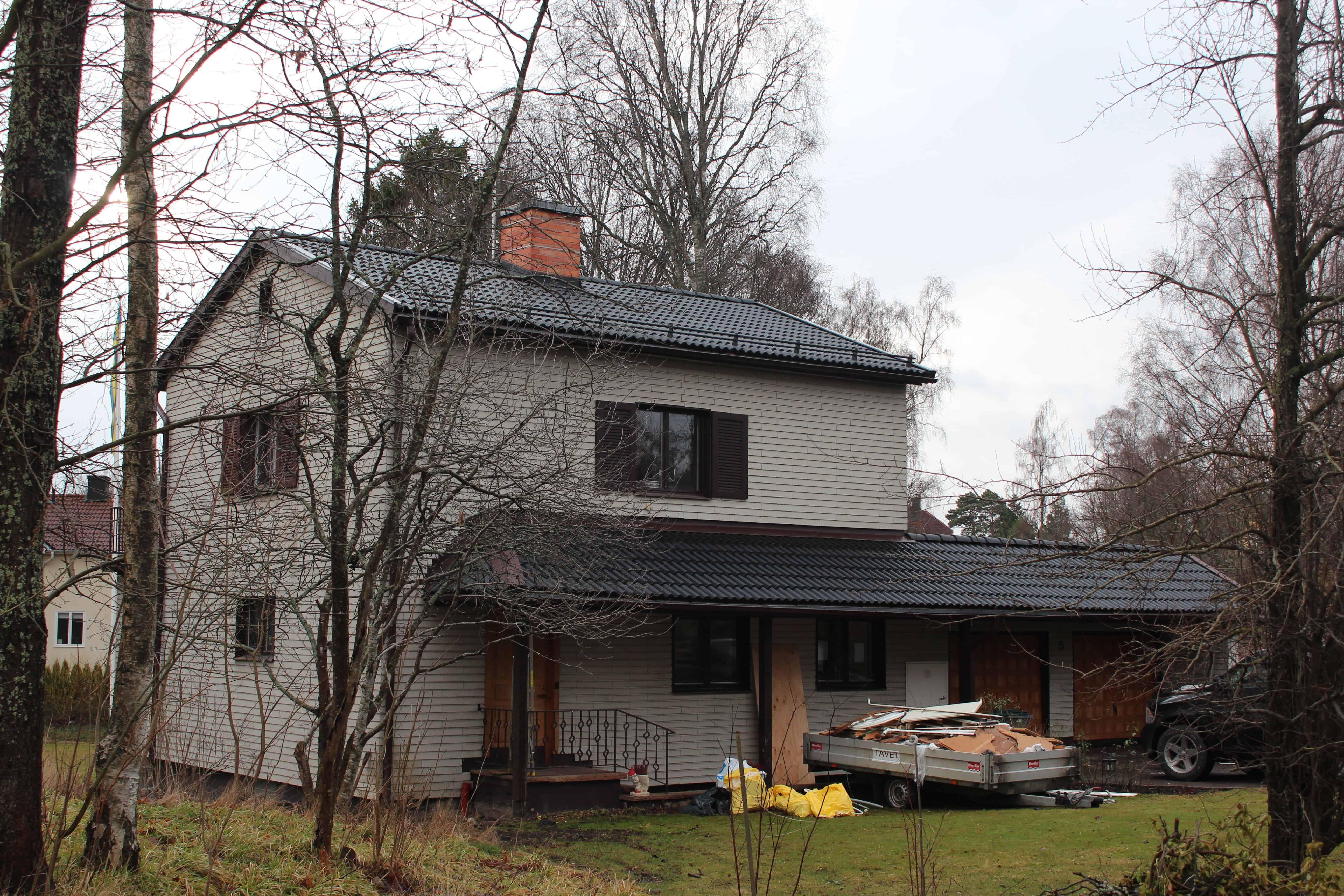 """Referensjobb """"Birkavägen 5, Djursholm"""" utfört av Takrenoverarna i Stockholm AB"""