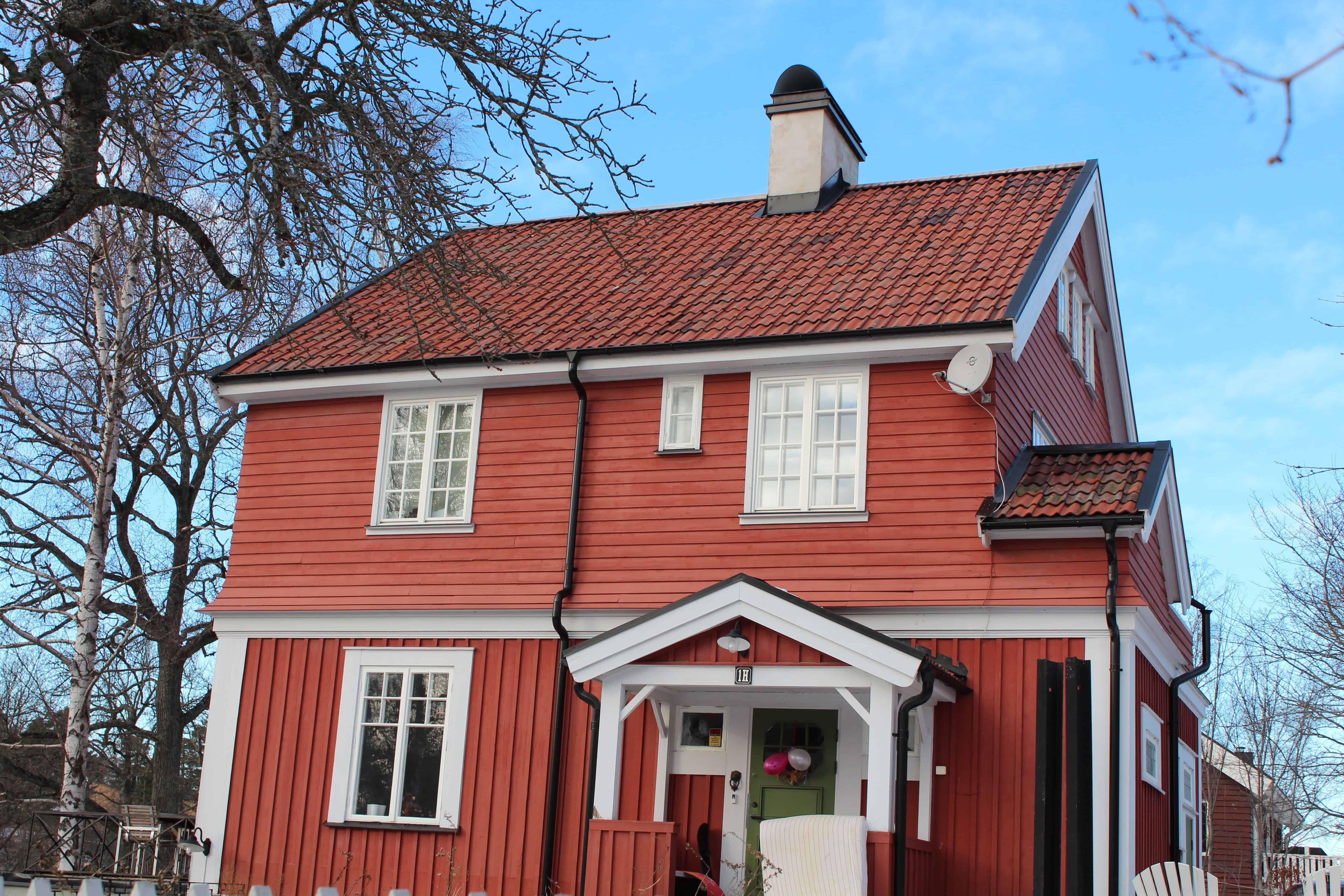 """Referensjobb """"Drottningvägen 1H, Lidingö"""" utfört av Takrenoverarna i Stockholm AB"""