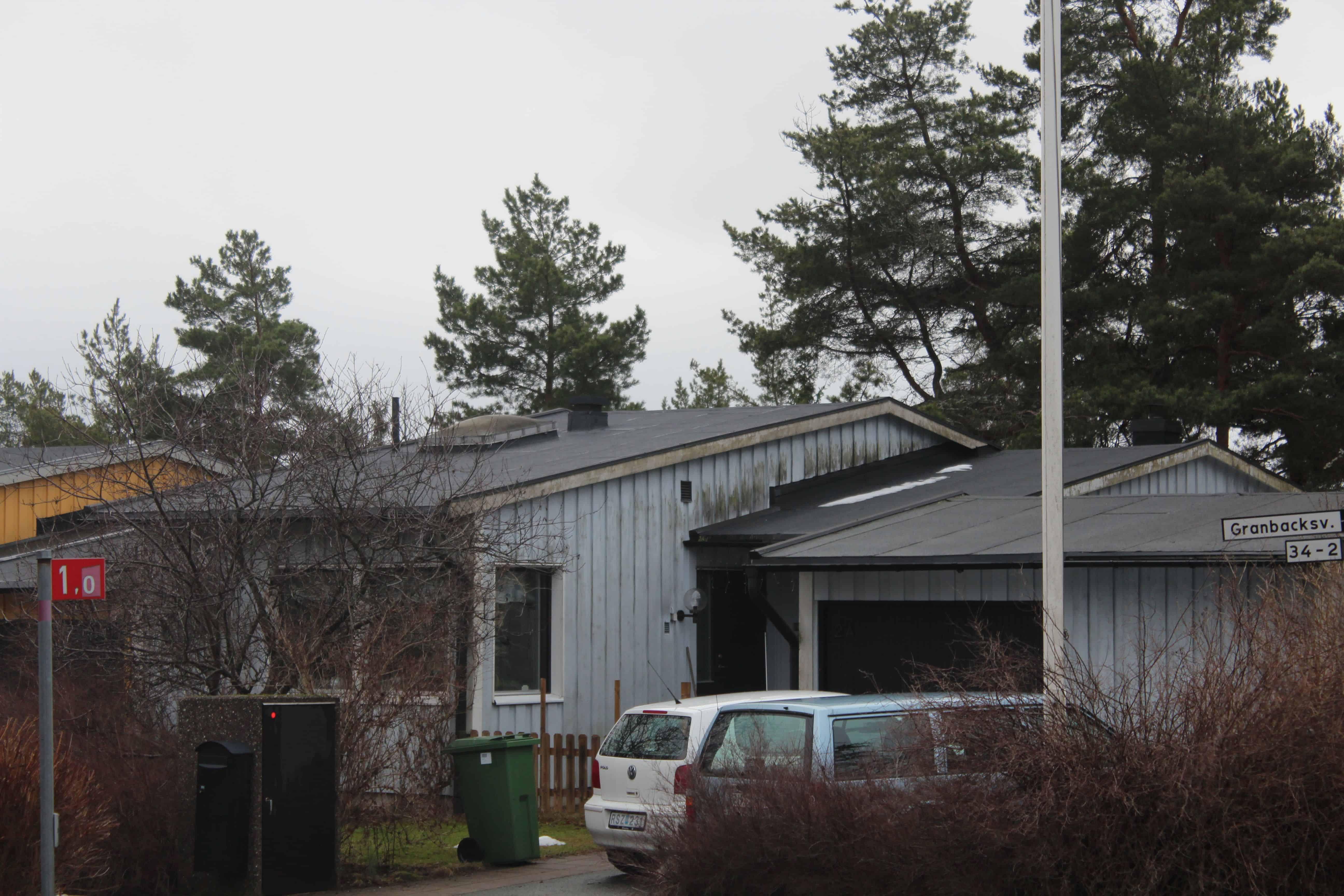 """Referensjobb """"Granbacksvägen 2A, Lidingö"""" utfört av Takrenoverarna i Stockholm AB"""