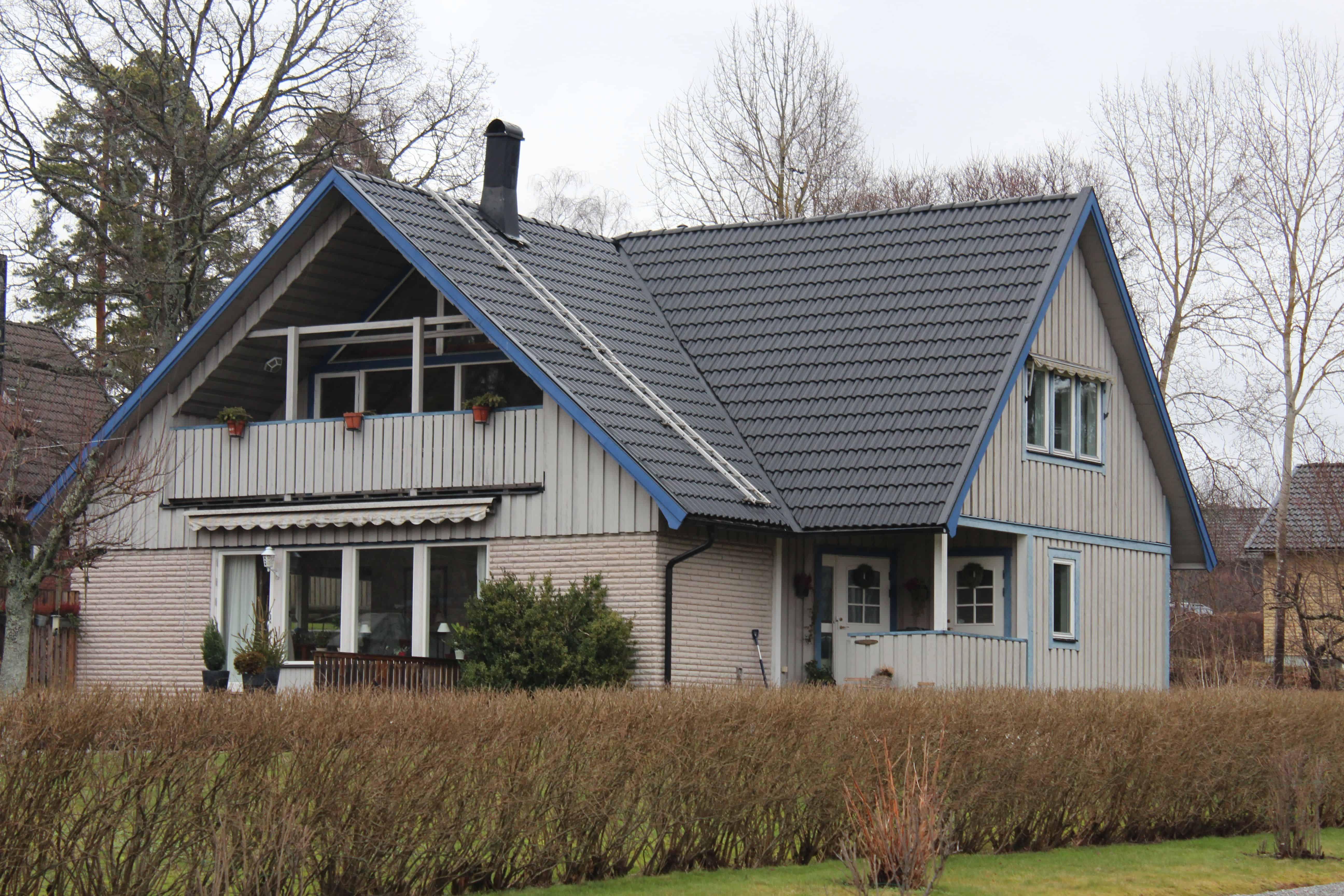 """Referensjobb """"Karlbergsvägen 65, Vallentuna"""" utfört av Takrenoverarna i Stockholm AB"""
