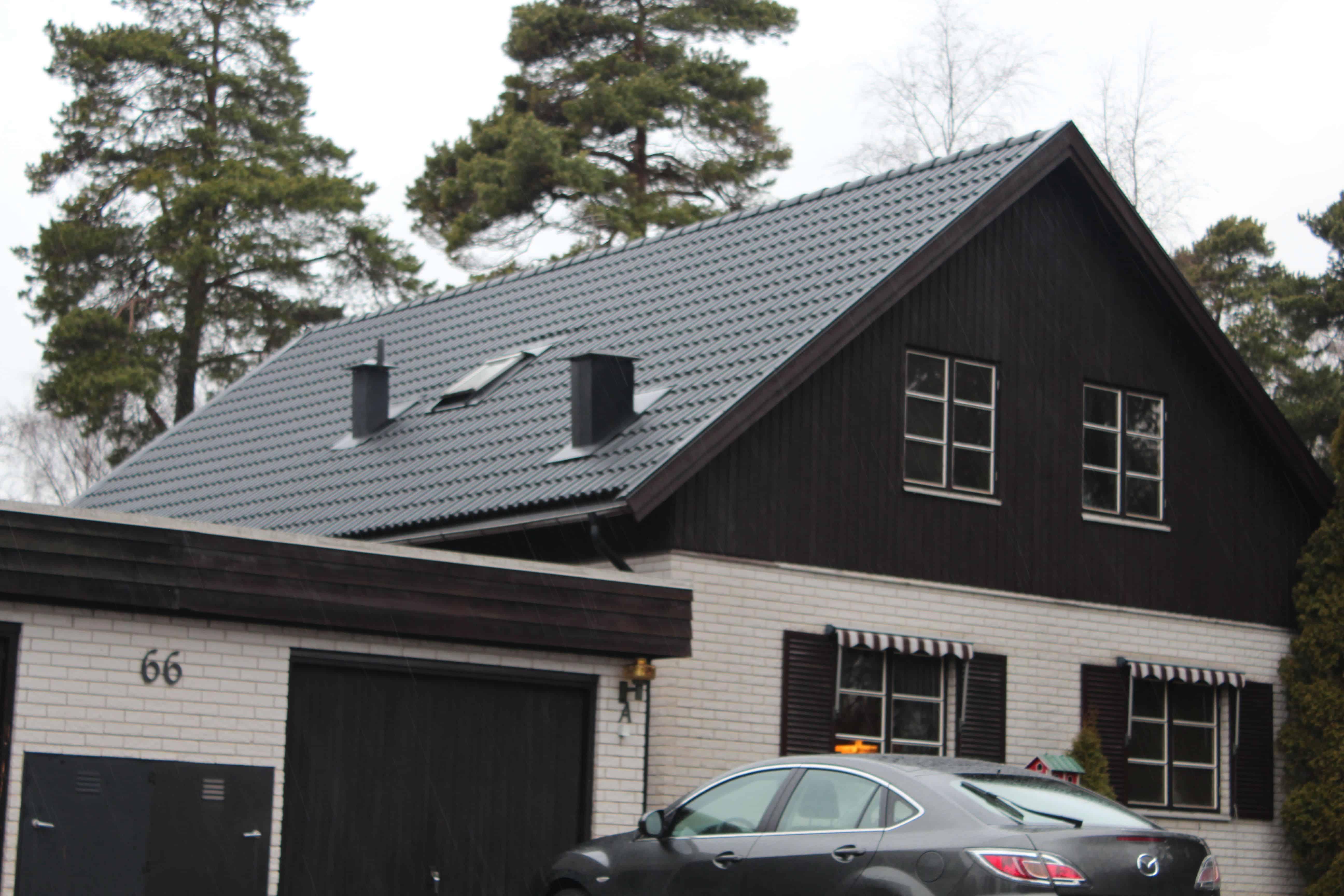 """Referensjobb """"Karlbergsvägen 66A, Vallentuna"""" utfört av Takrenoverarna i Stockholm AB"""