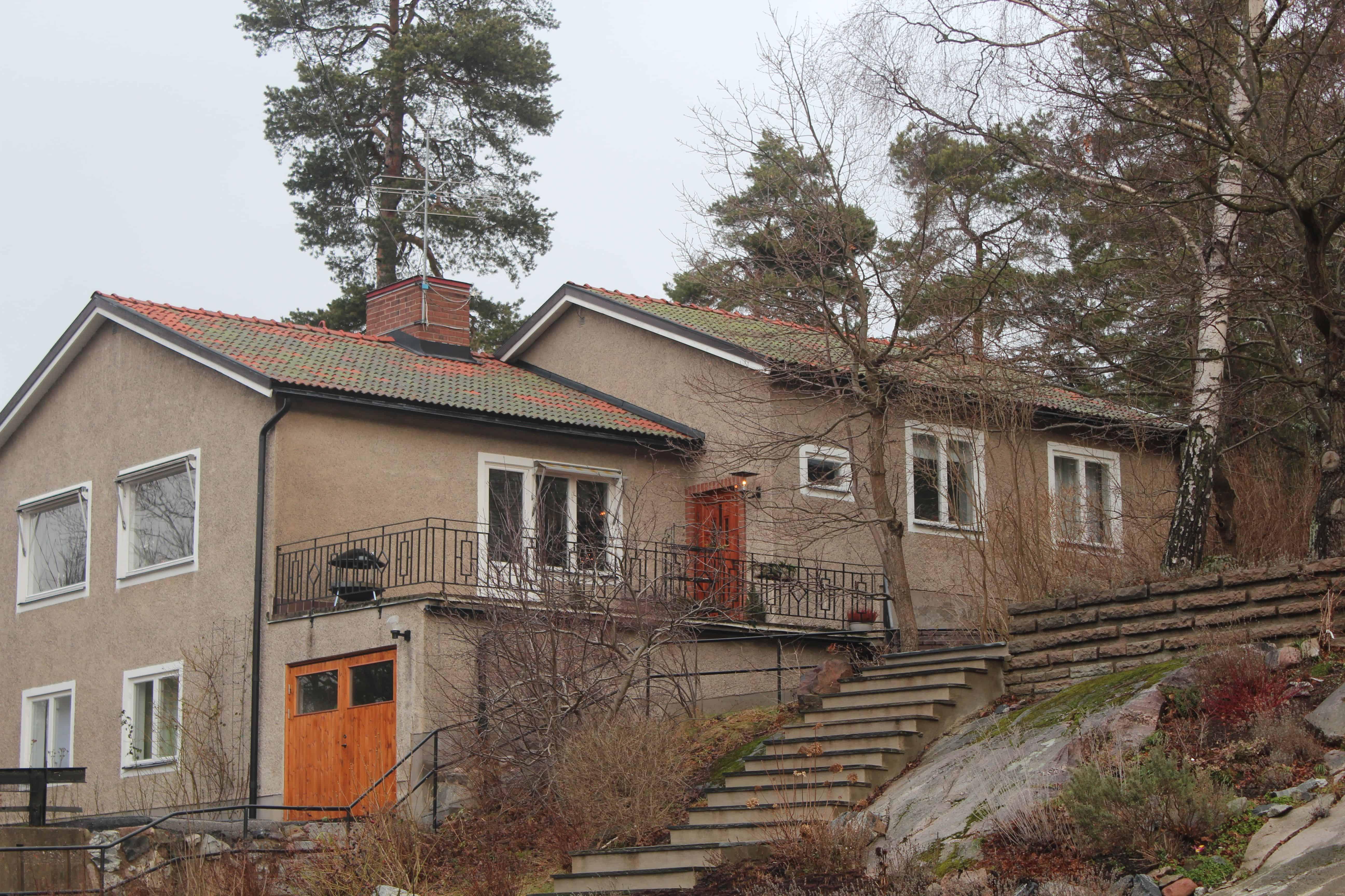 """Referensjobb """"Söderliden 18B, Lidingö"""" utfört av Takrenoverarna i Stockholm AB"""