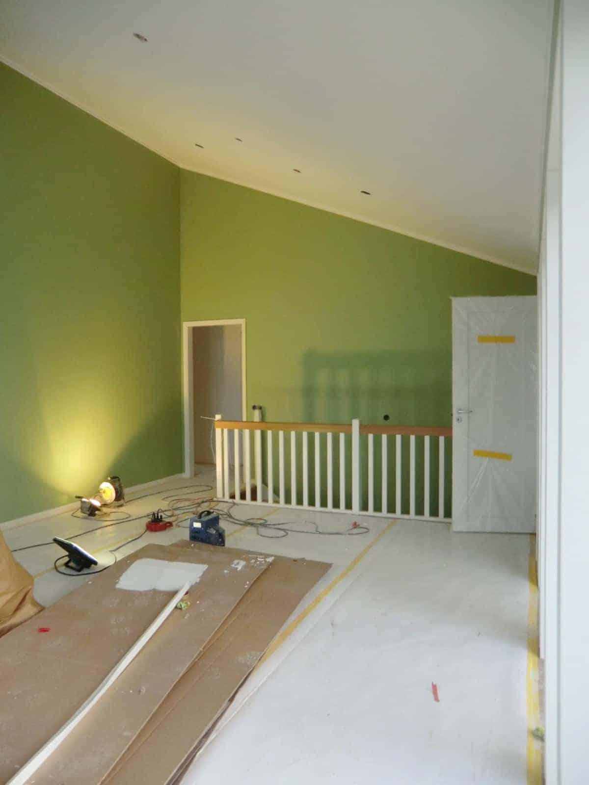 """Referensjobb """"Målning av rum"""" utfört av Gårda Måleri"""