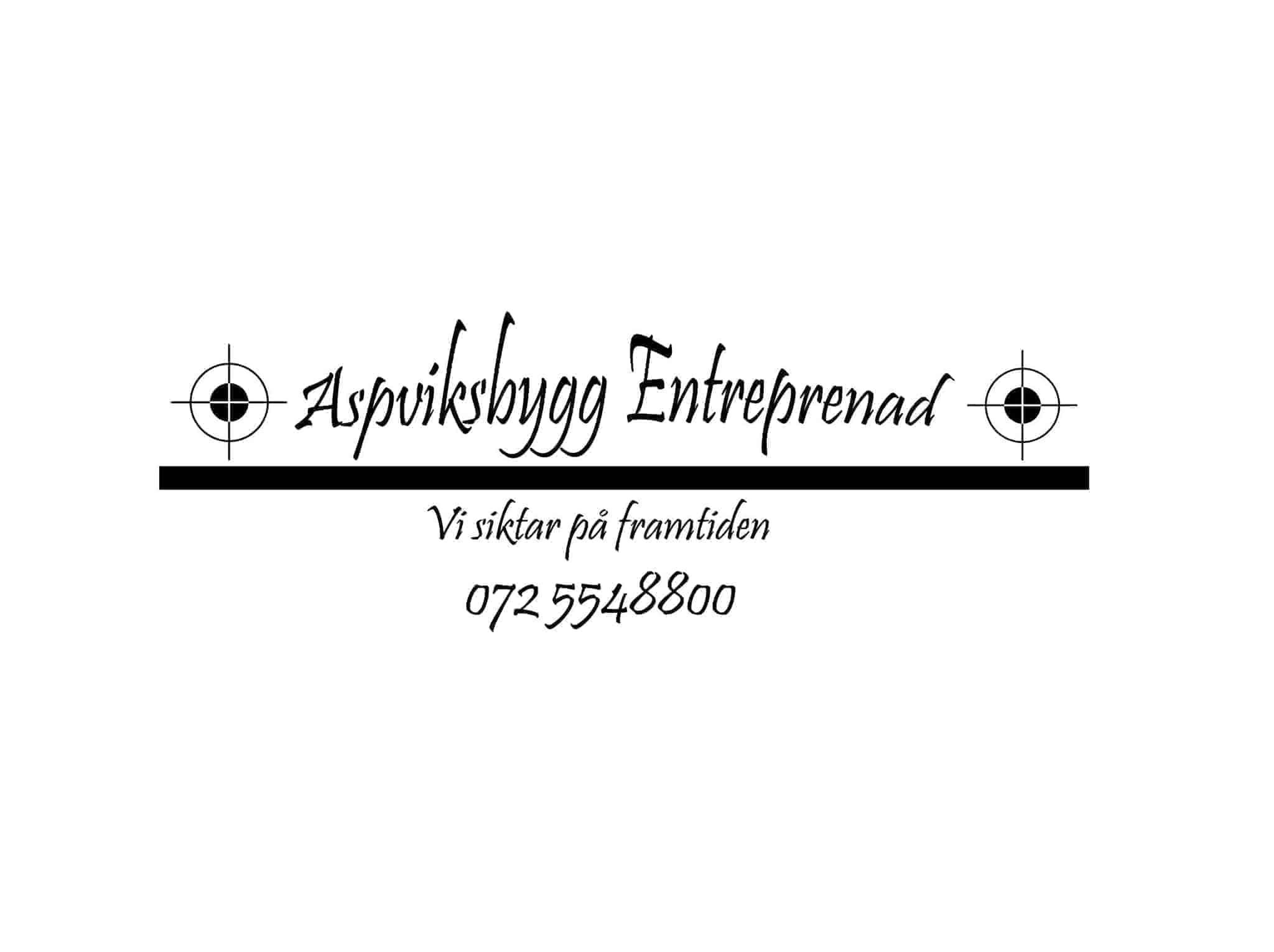 Logotyp för Aspviksbygg Entreprenad Handelsbolag