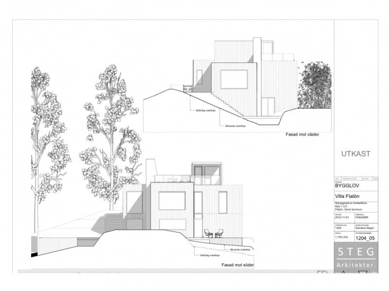 """Referensjobb """"Villabyggnation"""" utfört av Bygghus1 i Norden AB"""