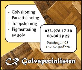 Logotyp för CRN Golvspecialisten AB