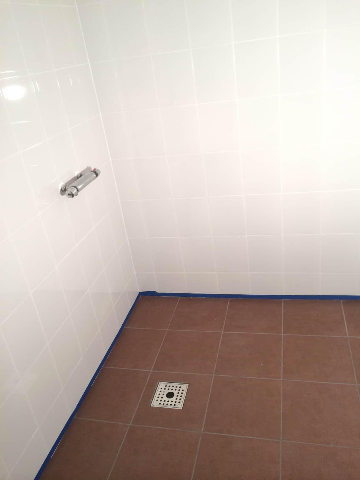 """Referensjobb """"Tvättstuga/dusch - Olofström"""" utfört av LYXMAR AB"""