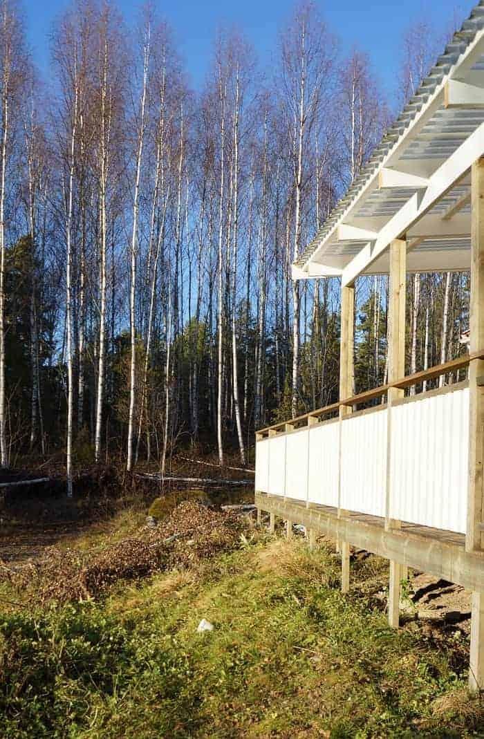 """Referensjobb """"altan"""" utfört av Idyllens Bygg och Renovering"""