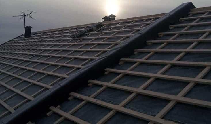 """Referensjobb """"tak"""" utfört av Idyllens Bygg och Renovering"""