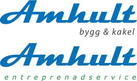 Logotyp för Amhult Bygg & Kakel AB