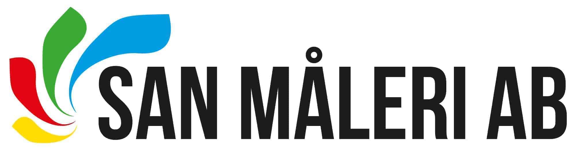 Logotyp för SAN Måleri AB