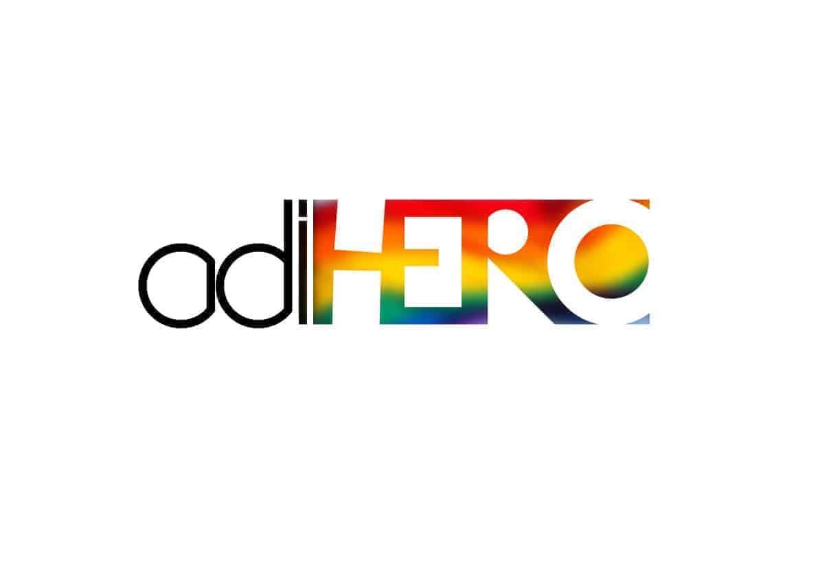 Logotyp för ADIHERO