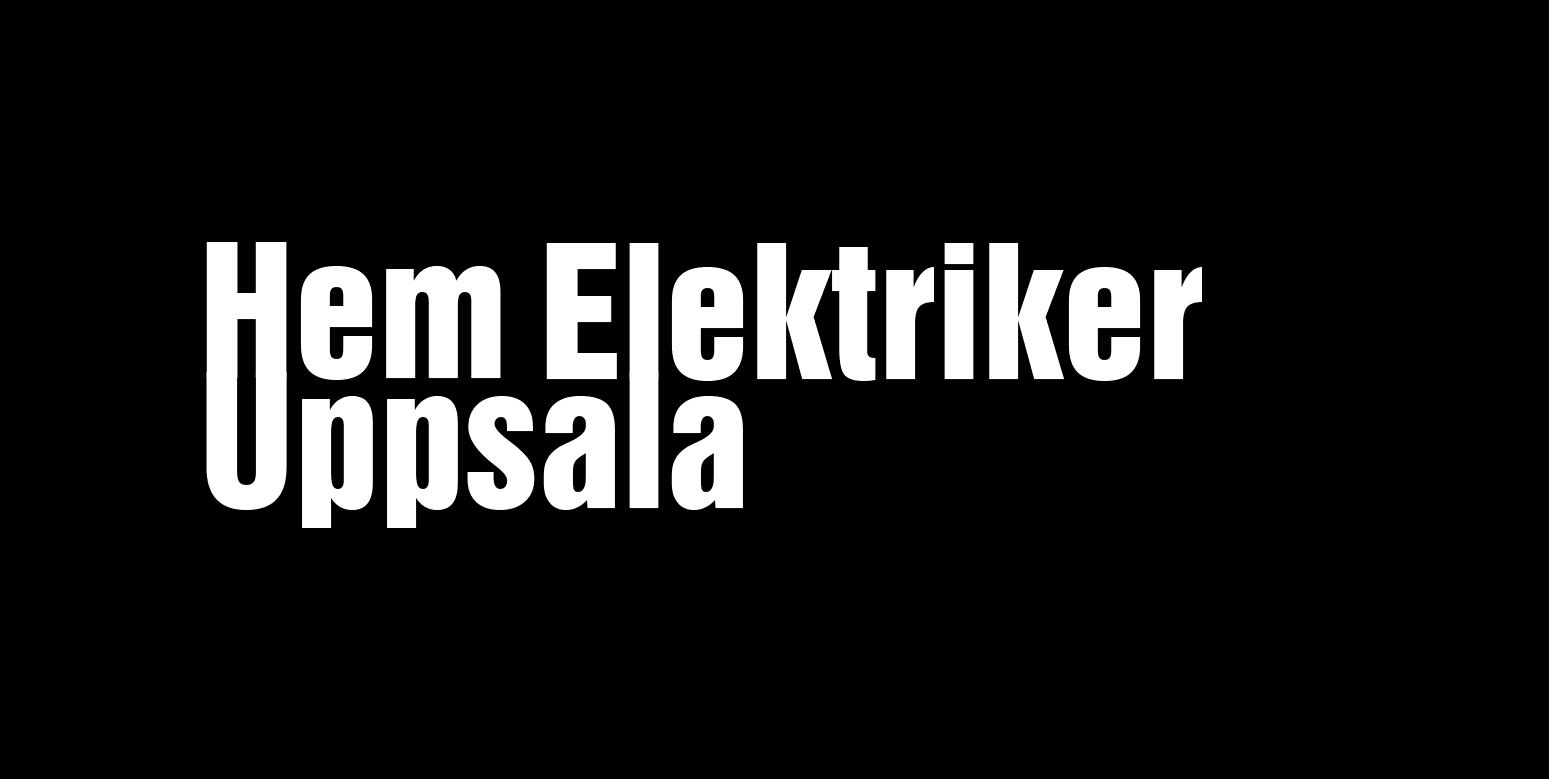 Logotyp för Hem Elektriker i Uppsala AB
