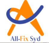 Logotyp för All Fix Syd