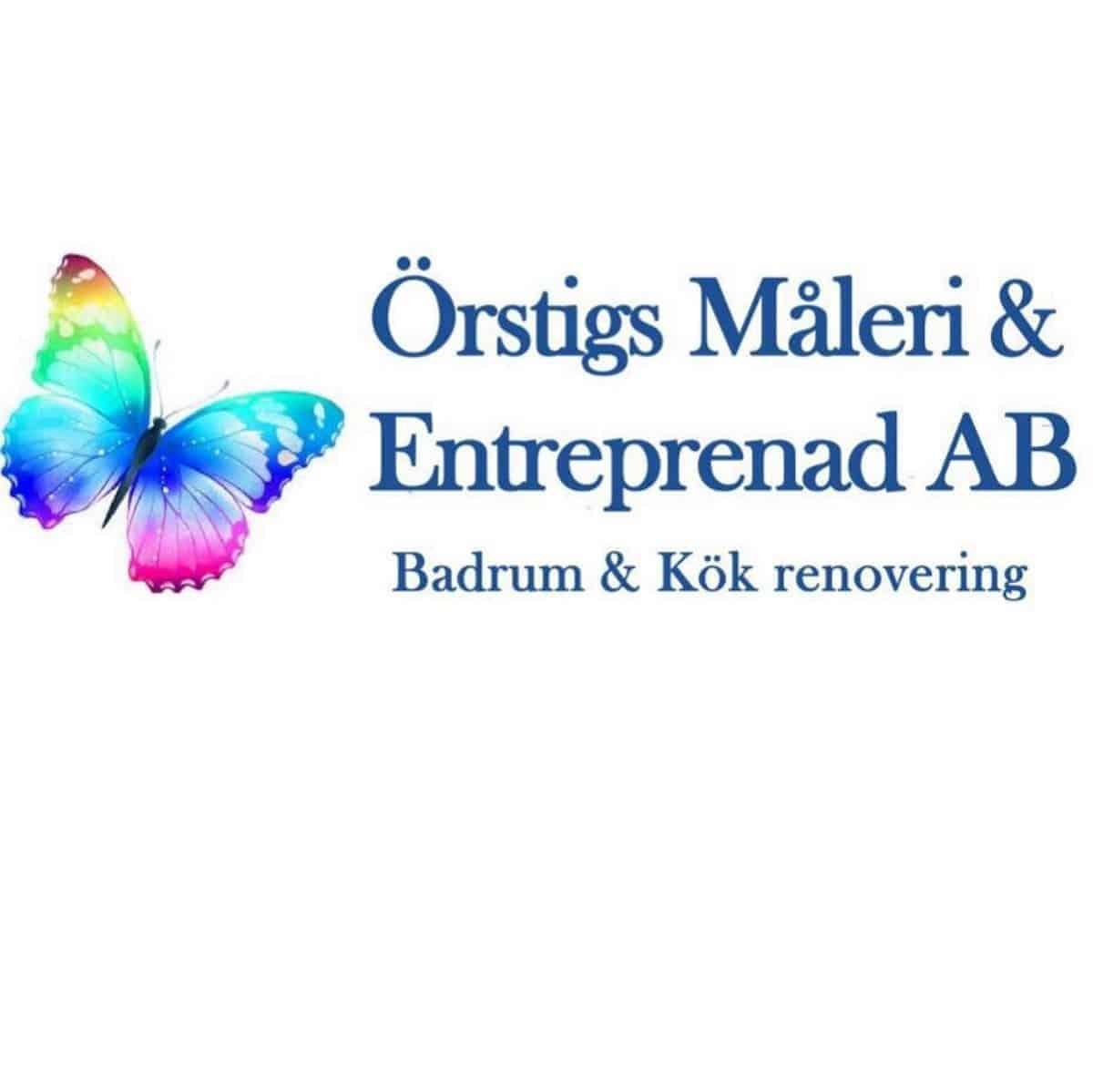 Logotyp för Örstig Måleri AB