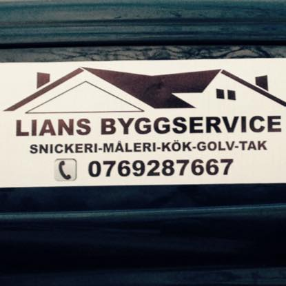 Logotyp för LIANS BYGGSERVICE