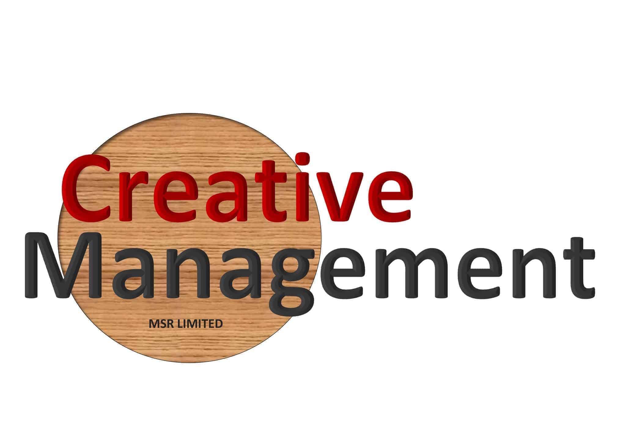 Logotyp för Creative Management Sverige Filial