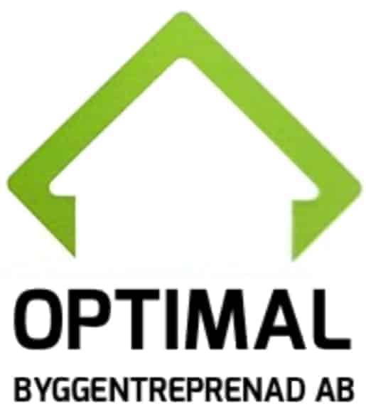 Logotyp för obe optimal bygg entreprenad AB