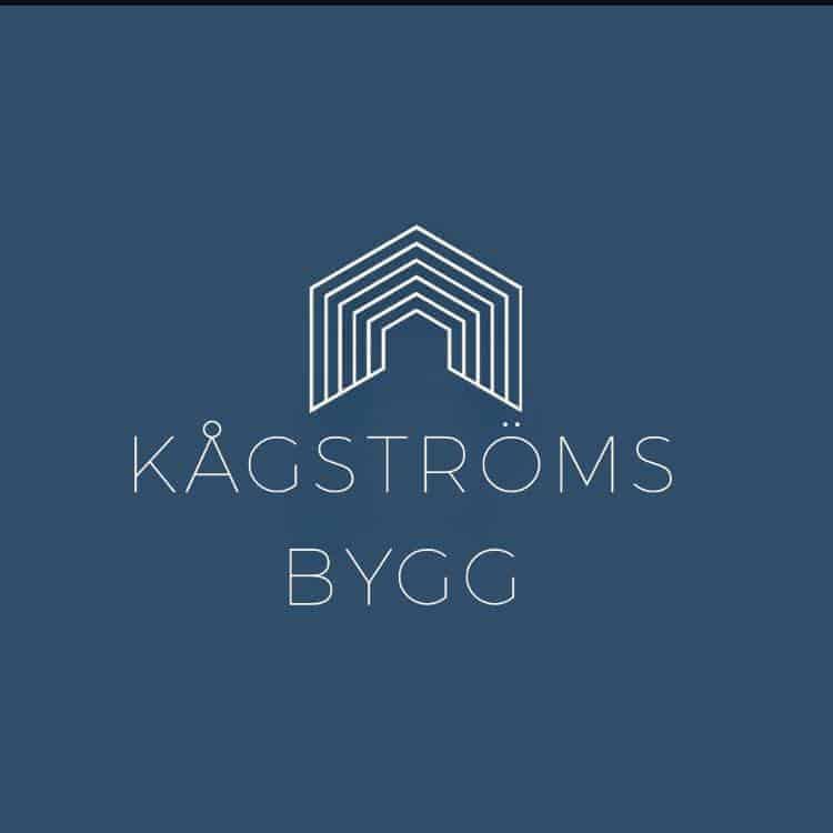 Logotyp för Kågströms bygg
