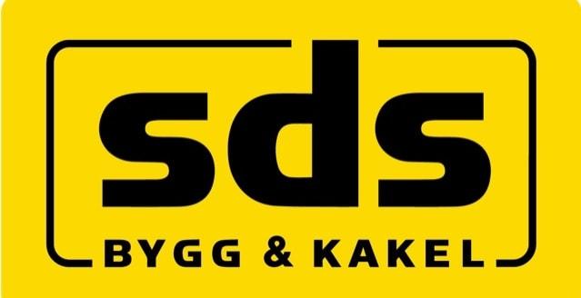 Logotyp för SDS Bygg & Kakel AB