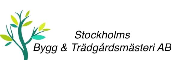 Logotyp för Stockholms Bygg och Trädgårdsmästeri AB