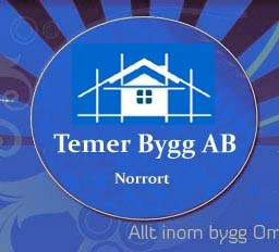 Logotyp för Temer Bygg AB