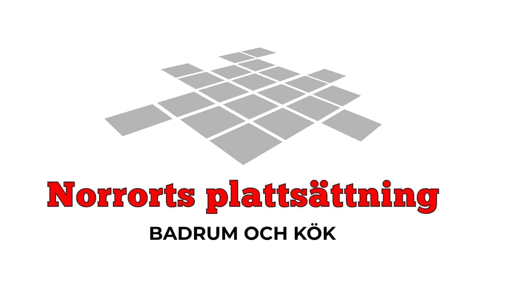 Logotyp för Norrorts plattsättning