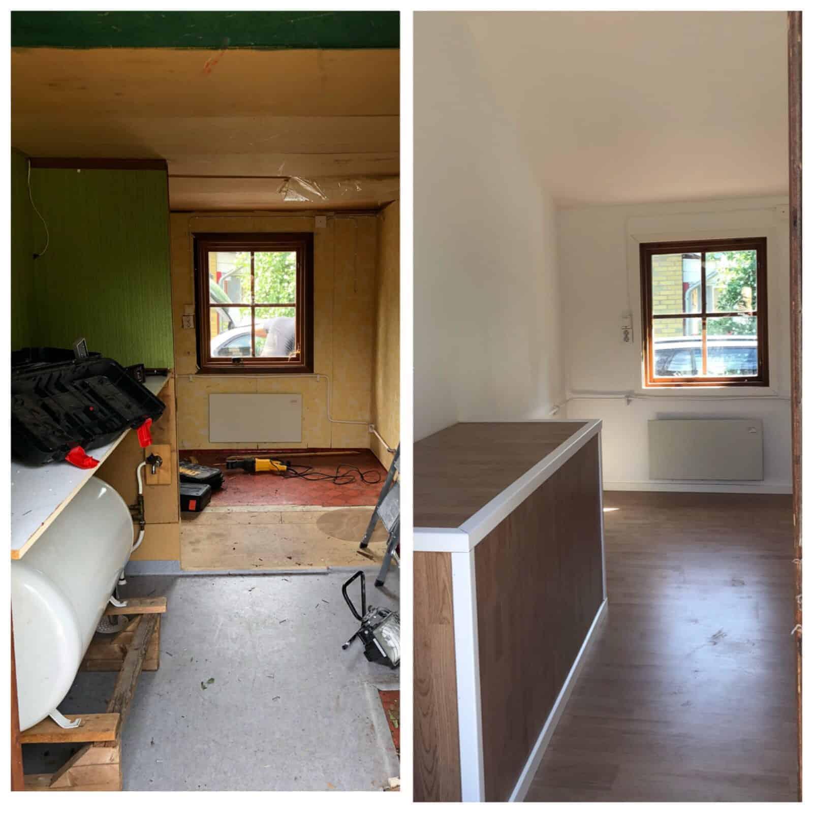 """Referensjobb """"Renovering"""" utfört av ByggBinaku i Halmstad AB"""