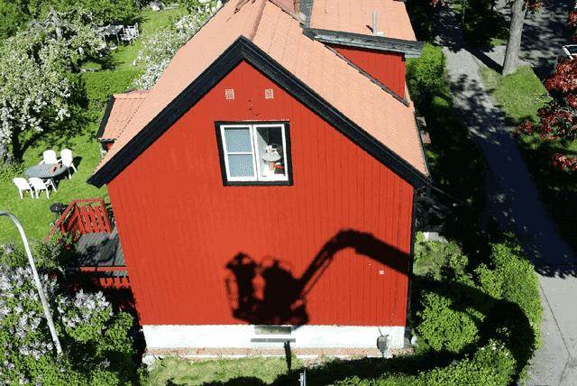 """Referensjobb """""""" utfört av Björn Franssons Måleri Aktiebolag"""
