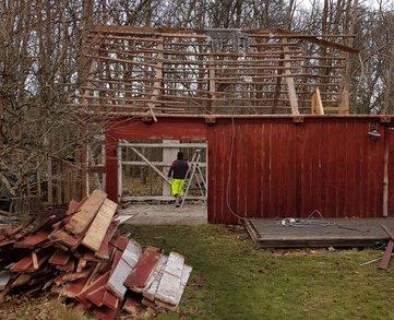 """Referensjobb """"Före renovering"""" utfört av Westerlund Bygg AB"""