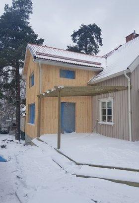 """Referensjobb """"Tillbyggnad"""" utfört av Westerlund Bygg AB"""