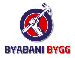 Logotyp för Byabani Bygg AB