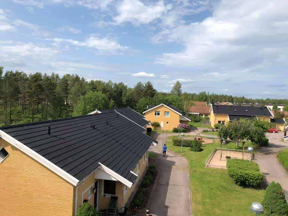 """Referensjobb """""""" utfört av Takproffsen i södra Sverige AB"""